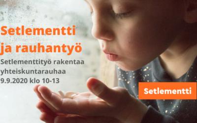 Setlementtityö rakentaa yhteiskuntarauhaa12/11/2020Verkkoseminaari