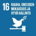 Agenda2030 tavoitteena rauha, oikeudenmukaisuus ja hyvä hallinto